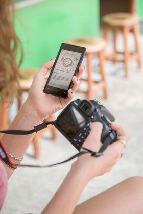 EOS Bedre Bilder-applikasjonen jobber i tandem med EOS 1200D, og forklarer hvordan de forskjellige funksjonene fungerer.