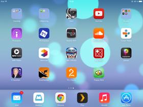 Her har vi akkurat lastet ned Flappy Bird fra iCloud-kontoen tilkoblet nettbrettet.