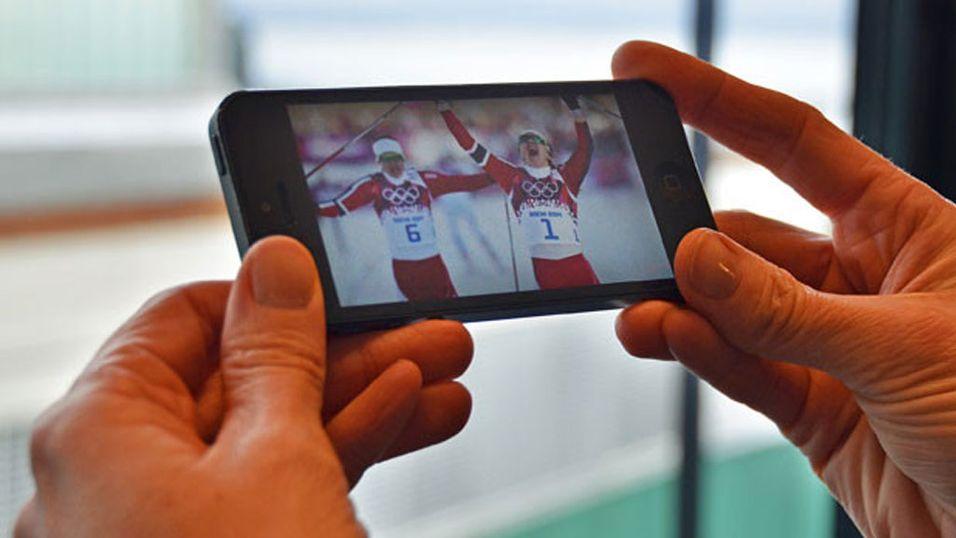Telenor satte rekord da Norge tok OL-gull