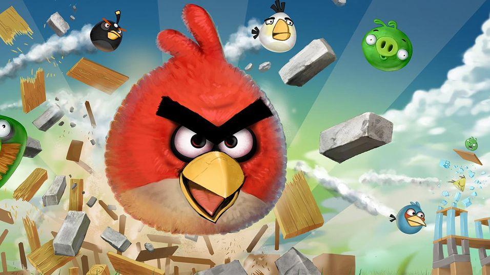 Mer Angry Birds i vente