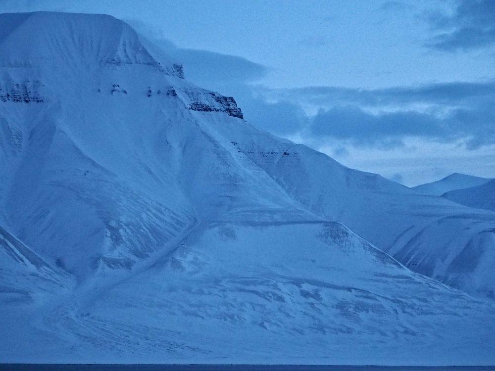 Vakre, blå fjell går vi aldri lei av.