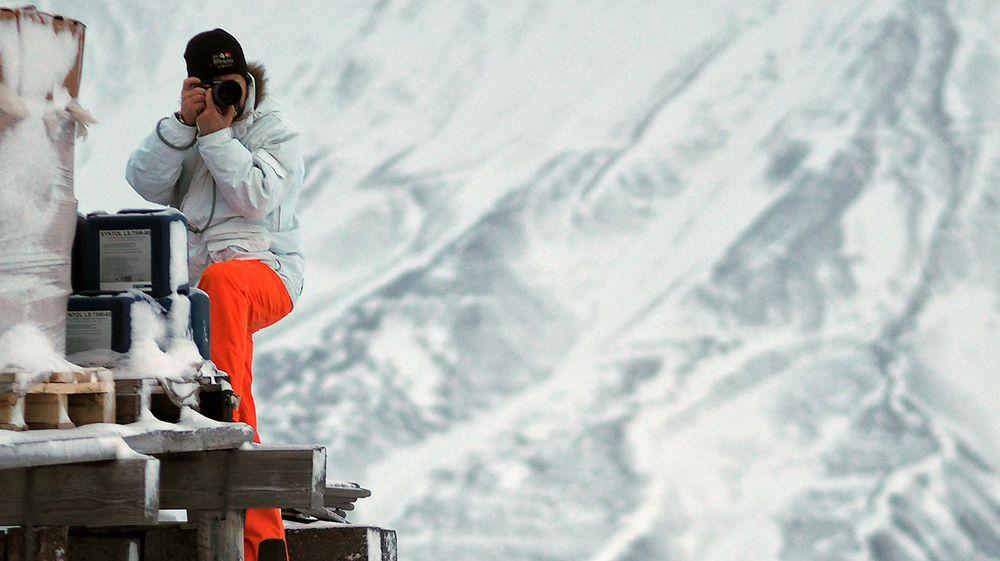 Ekstremtest av kamera: Se de første bildene fra isødet