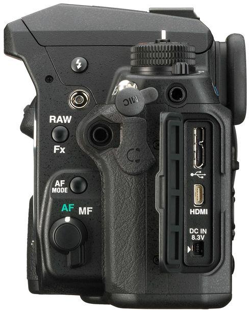 Både mikrofoninngang og hodetelefonutgang er en god nyhet for videofotografene.
