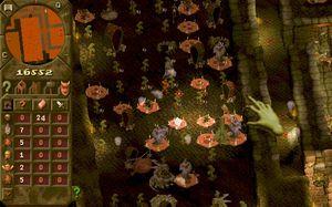 Mobilspillindustrien har for alvor tatt til seg Dungeon Keepers gamle slagord, «evil is good». (bilde: EA).