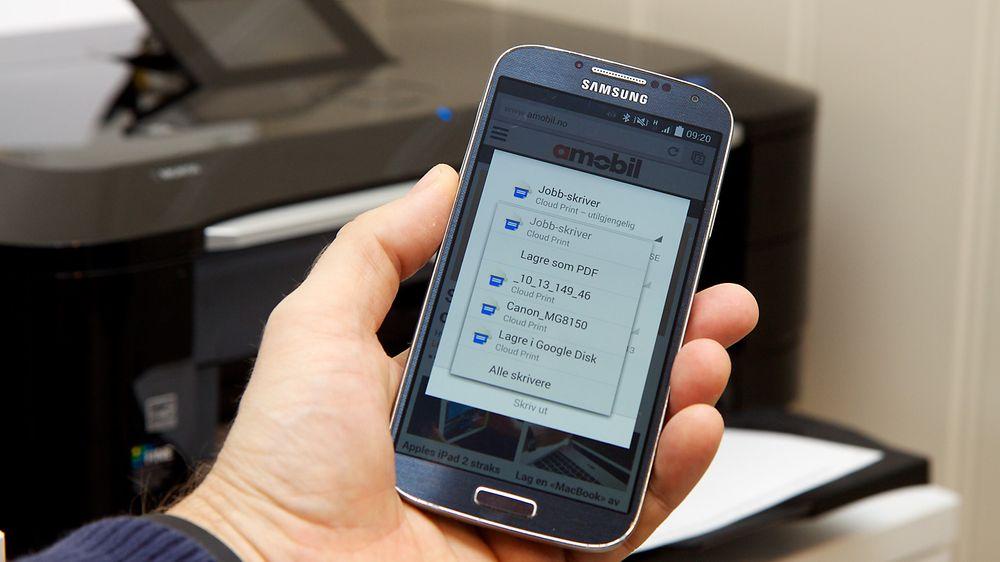GUIDE: Slik skriver du ut fra nettbrettet eller mobilen