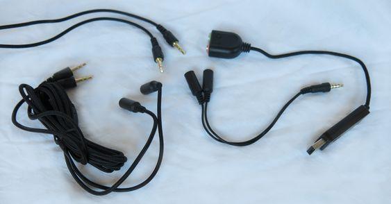 Du kan velge mellom enkel eller dobbel minijack eller bruke det medfølgende lydkortet. .
