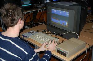 Forbudt klassiker – Giana Sisters på Commodore 64. (bilde: Spillmuseet).