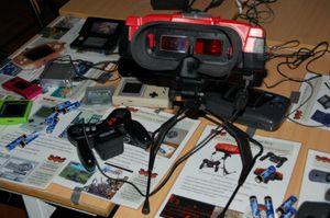 Forgjengeren til Oculus Rift. (bilde: Spillmuseet).