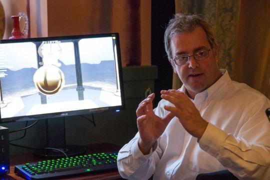 Tom Petersen, Nvidias tekniske markedssjef, forklarer hvordan selskapet har arbeidet med Maxwell.