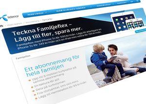 Familjeflex-abonnementet får mye av æren for Telenors vekst i det svenske mobilmarkedet.