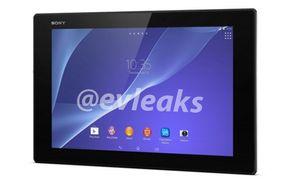 Dette skal være et bilde av Sony Xperia Z2, ifølge Twitter-brukeren @evleaks.