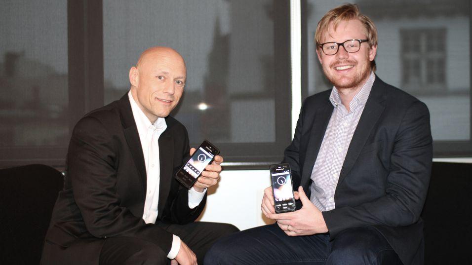 Salgs og Markedsdirektør Thomas Zaubi (til venstre) og Andreas Parr Bjørnsund, Prosjektleder.
