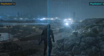 Så mye bedre grafikk har Metal Gear Solid V på de nye konsollene