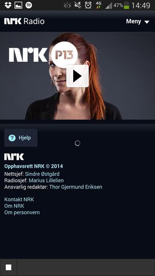 Det er ikke alle radio-apper som fungerer like bra. Dessverre er NRKs app en av disse. Det er for eksempel ikke opplagt om den er i ferd med å spille radio, eller om den har låst seg.
