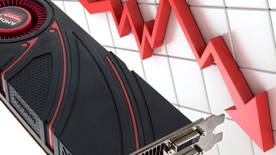 AMD faller som en stein