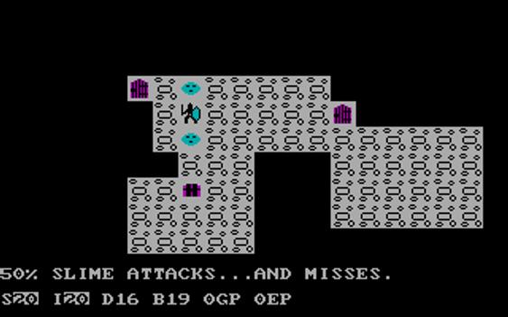 Selv i 1978 hadde man slim-monstre (bilde: Gamer.no).
