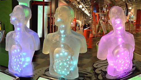 Slik ser Slukhalsen ut på VilVite-senteret i Bergen. (Foto: Turbotapegames.com).
