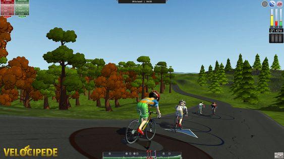 Velociped var det andre kommersielle spillet som rullet ut av kontorene i Bergen. (Bilde: Turbotapegames.com).