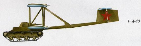 Nok et bilde av russernes A-40 KT.