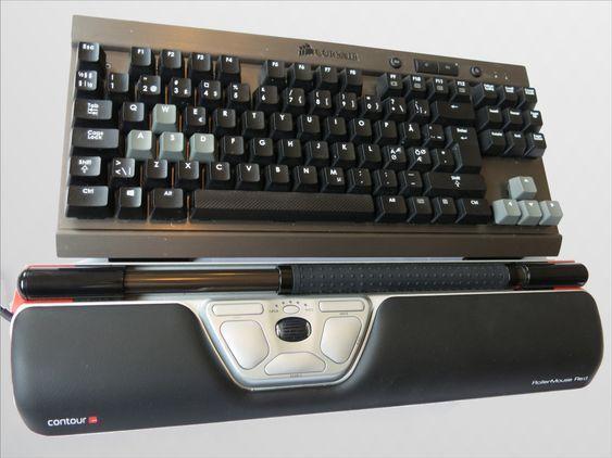 Du kan stille bredden til festestykkene slik at rullemusen fungerer til alle typer tastaturer.