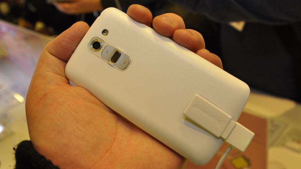 Nye LG G2 Mini skal ta med seg programvaren fra G2 ned i en telefon med mindre størrelse. Vi hadde likt den bedre om den også tok med seg de andre egenskapene.