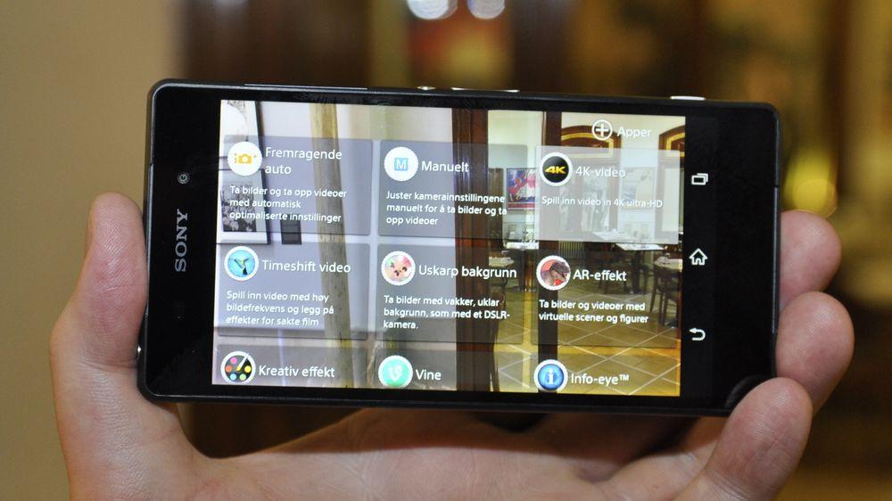 SNIKTITT: Dette er en skikkelig kruttønne av en mobil