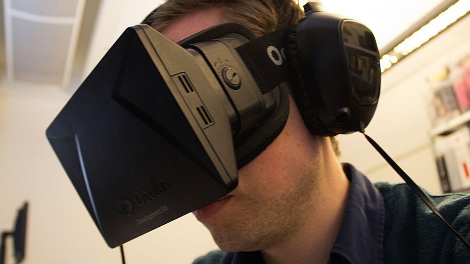 Vil la deg oppleve  virkeligheten  med Oculus Rift-brillene