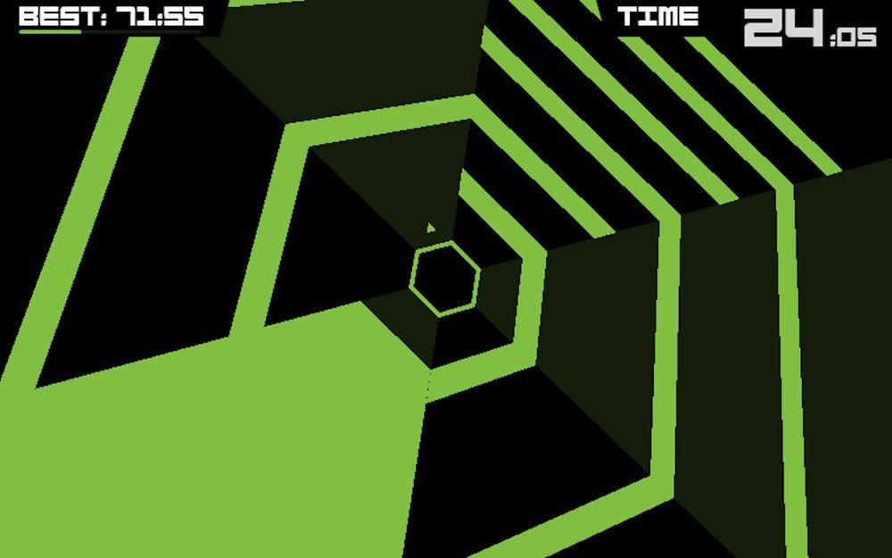 Spillet Super Hexagon ble et musikalsk gjennombrudd for Chipzel.