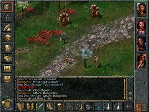 Baldur's Gate. (bilde: BioWare/Interplay).