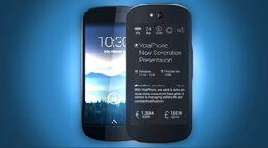 Slik ser den nye telefonen ut. Den har fått et mye rundere design enn sin forgjenger.