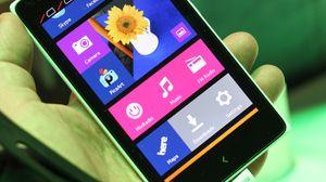 Slik er flisene på Nokia X-serie.