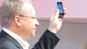 Stephen Elop er ikke lenger toppsjef i Nokia, men fikk likevel presentere selskapets nyheter på MWC.