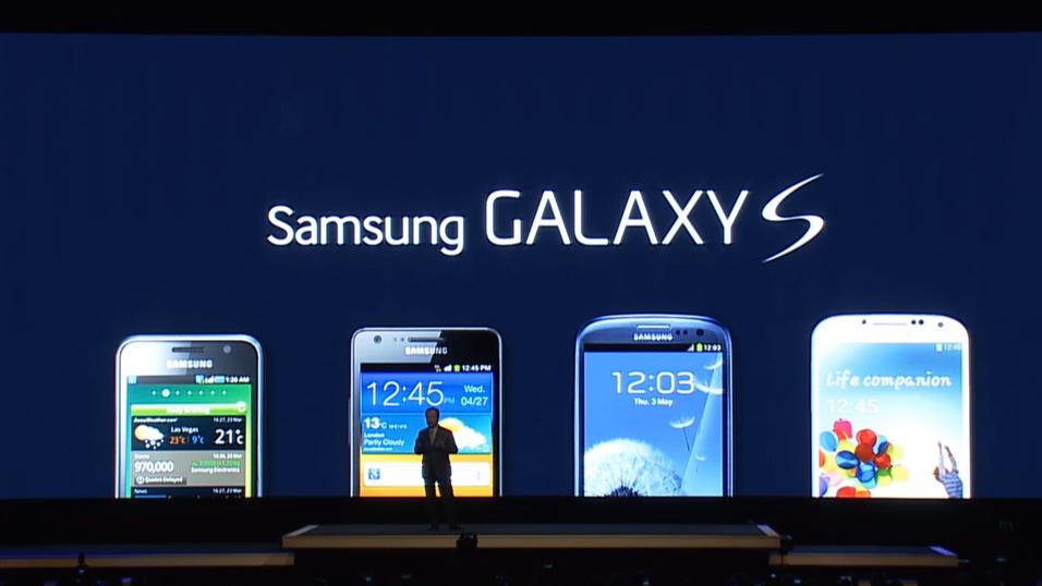 Samsung Galaxy S5 er nå lansert på WMC i Barcelona.