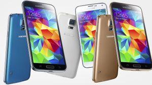 Det er ventet at Samsungs nye flaggskip Galaxy S5 blir en storselger.