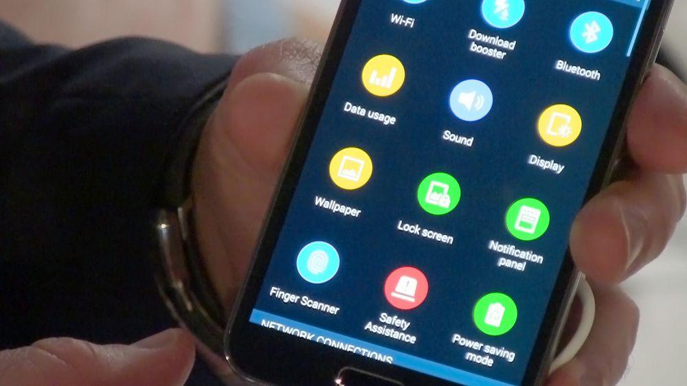 Det ser ut til at Samsung og Nokia har brukt de samme ikonografene.