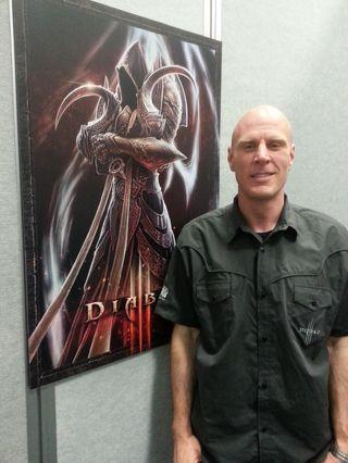 Sjefsdesigner i Blizzard Entertainment, Jonny Ebbert. (Foto: Håvard Hofstad Ruud).