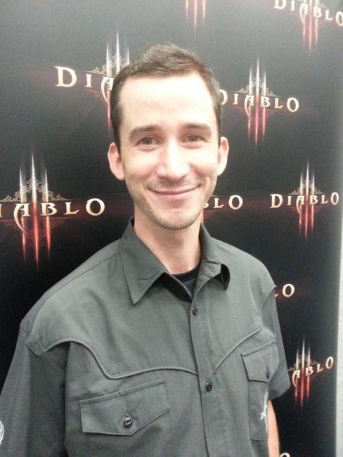 Seniorutvikler i Blizzard Entertainment, Andrew Chambers. (Håvard Hofstad Ruud).