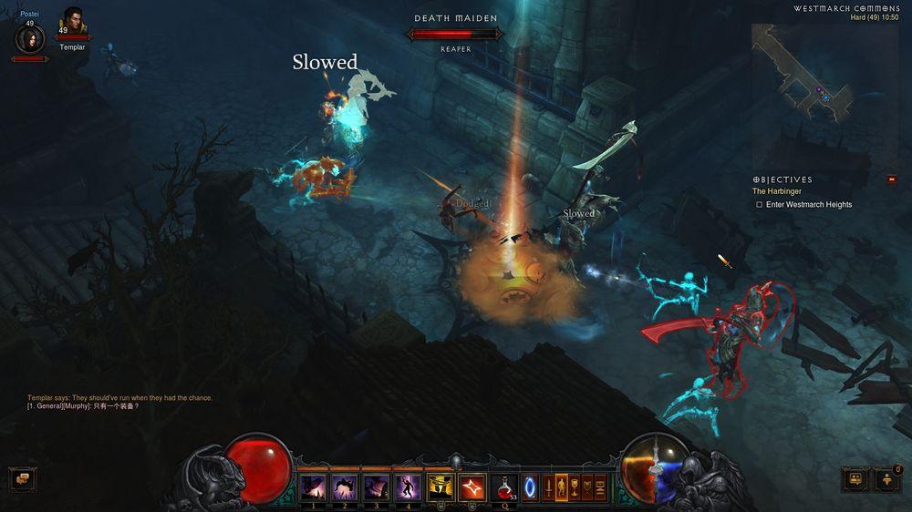 Nye områder og nye monstre å slakte. (Bilde: Gøran Solbakken/Blizzard Entertainment).