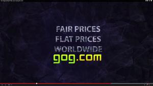 GOG har tidligere reklamert med flate priser over hele verden.