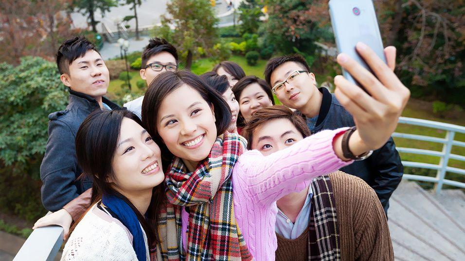 Forsker hevder «selfies» har ført til hodelus-epidemi