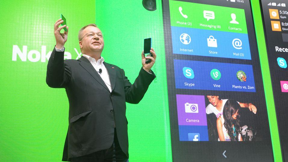 Ikke sikkert Microsoft vil beholde nye Android-Nokia