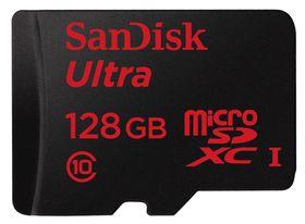 SanDisk Ultra microSDXC 128 GB.
