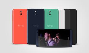 HTC Desire 610 er litt enklere enn 816-modellen.