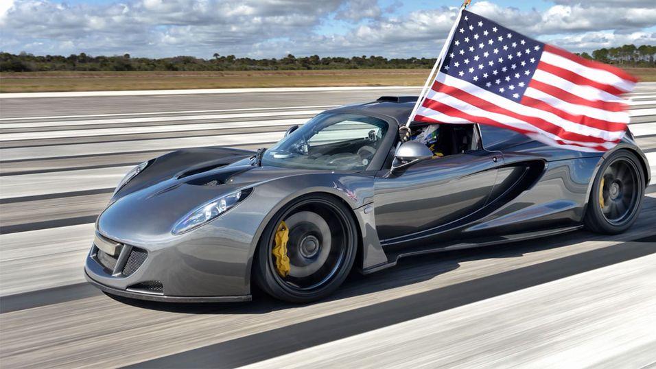 Venom GT er verdens raskeste bil