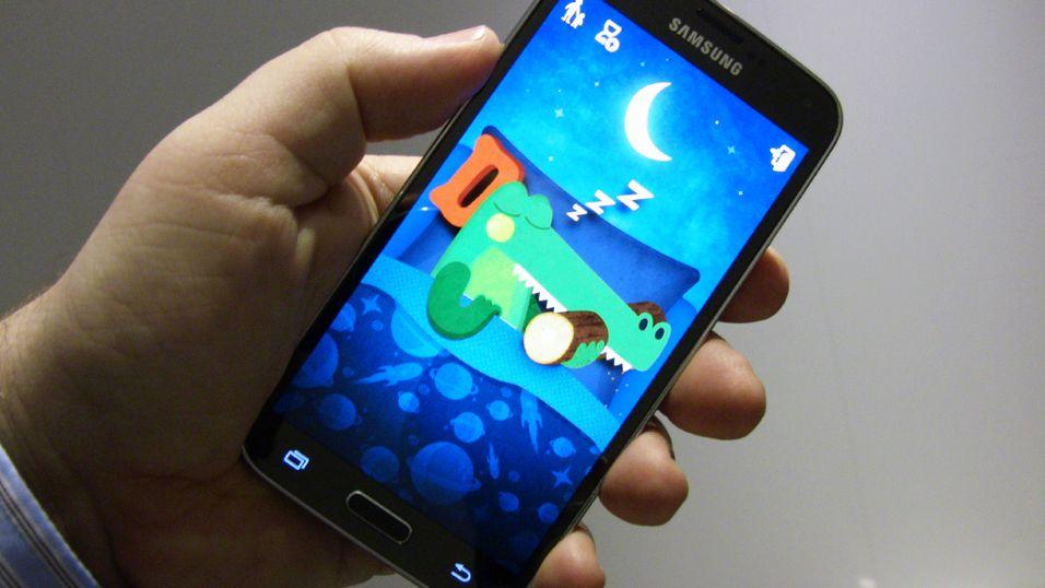 Se hva Galaxy S5 kan