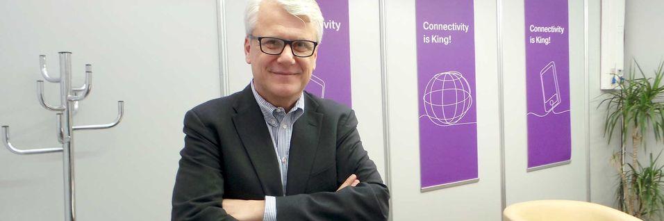 Teknisk direktør Sverker Hannervall i Teliasonera-konsernet er ikke fremmed for tanken om å kjøpe norske fiberselskaper, dersom muligheten skulle dukke opp.