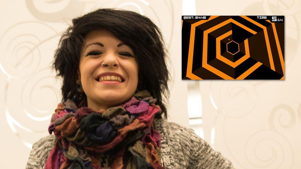 Niamh «Chipzel» Houston (22) er fra Nord-Irland og har holdt på med chipmusikk siden hun var 16.