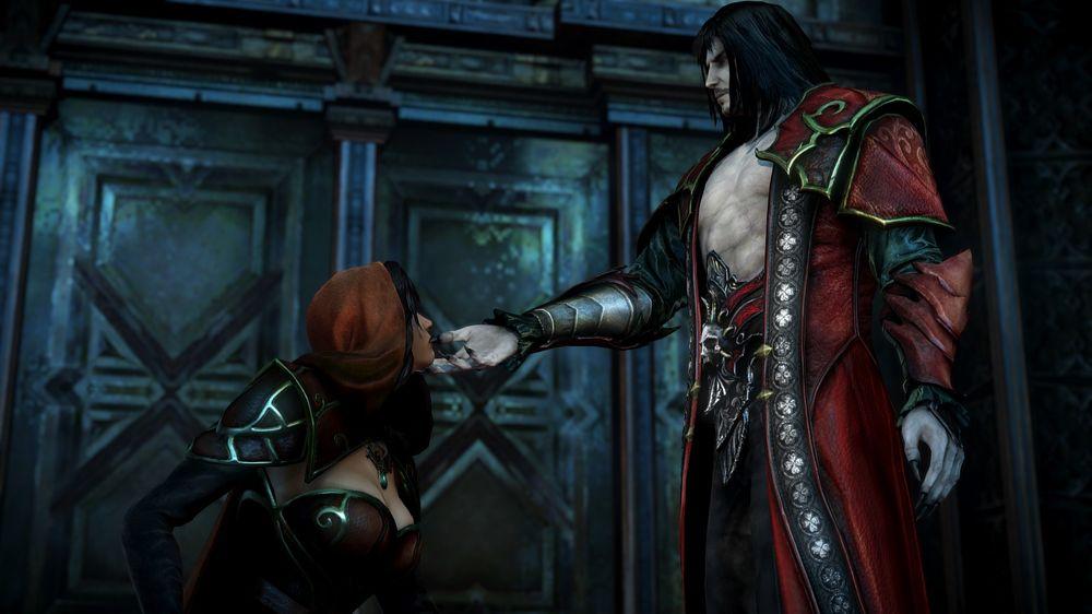 Dracula hadde ikkje heilt hellet med seg under Devil May Cry-audition, men fekk heldigvis sitt eige spel. (Skjermbilete: Øystein Furevik/Konami).