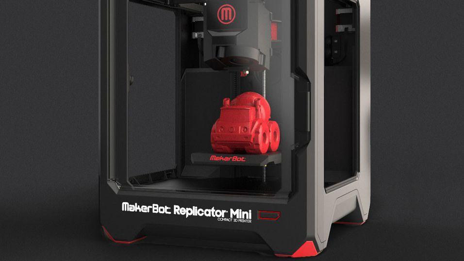 Nå kan du kjøpe en rimelig mini-3D-printer