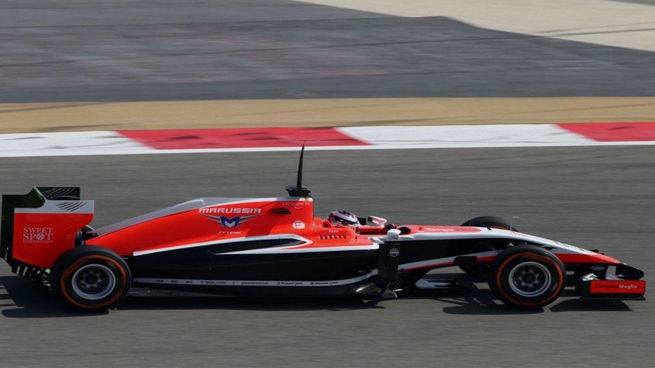 Formel 1-bil fikk datavirus